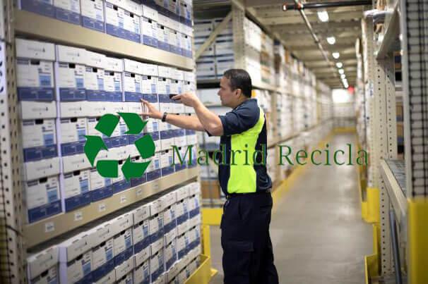 Almacenamiento de Registros y destrucción segura